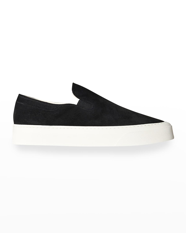 Marie H Suede Slip-On Sneakers