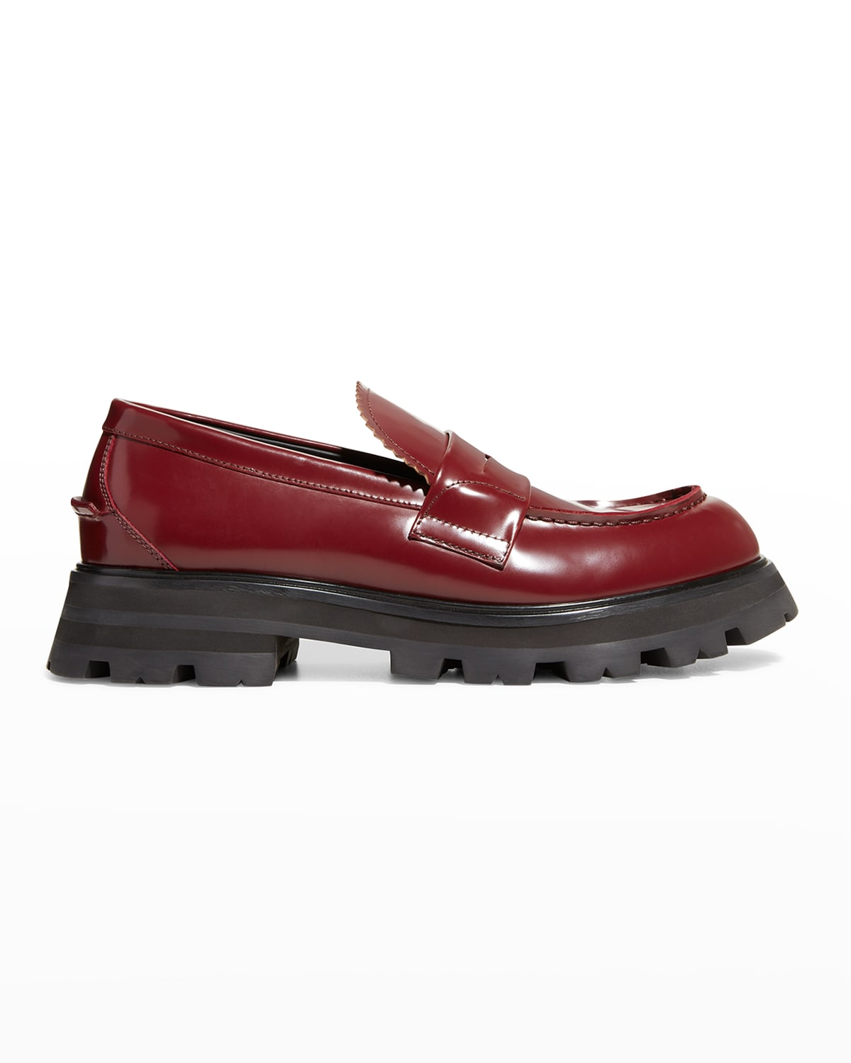 Men's Patent Penny Loafers
