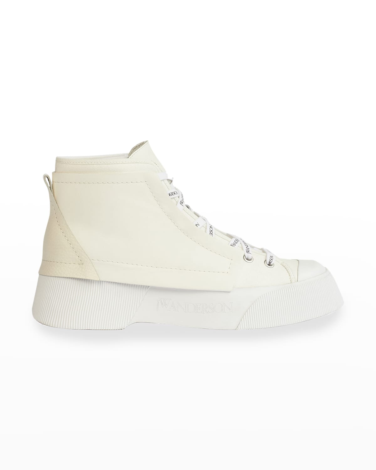 Trainer Leather High-Top Sneakers