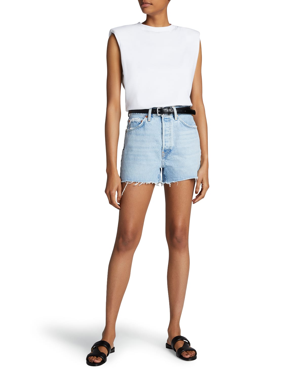 50s Cutoff Denim Shorts