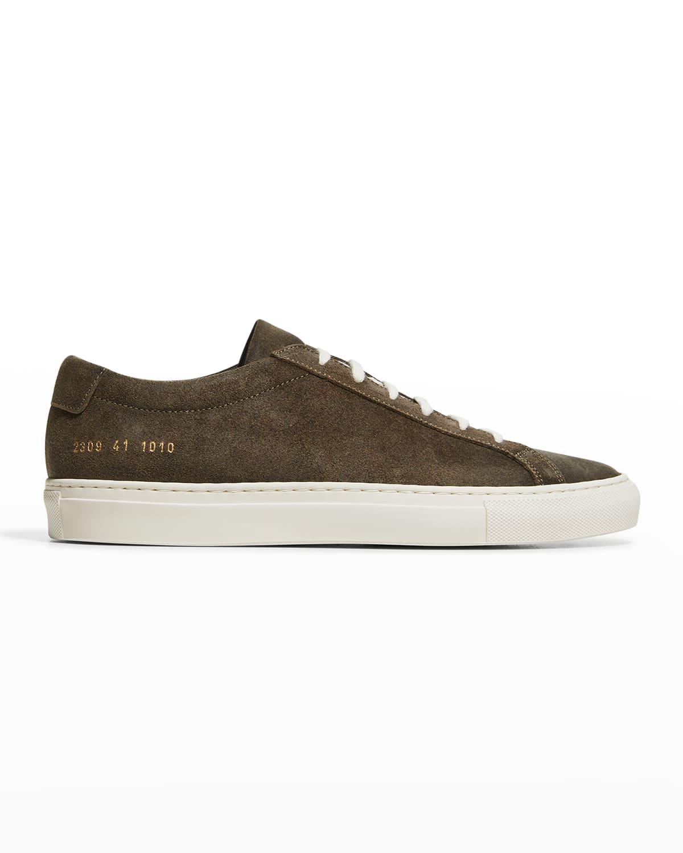 Men's Achilles Suede Sneakers
