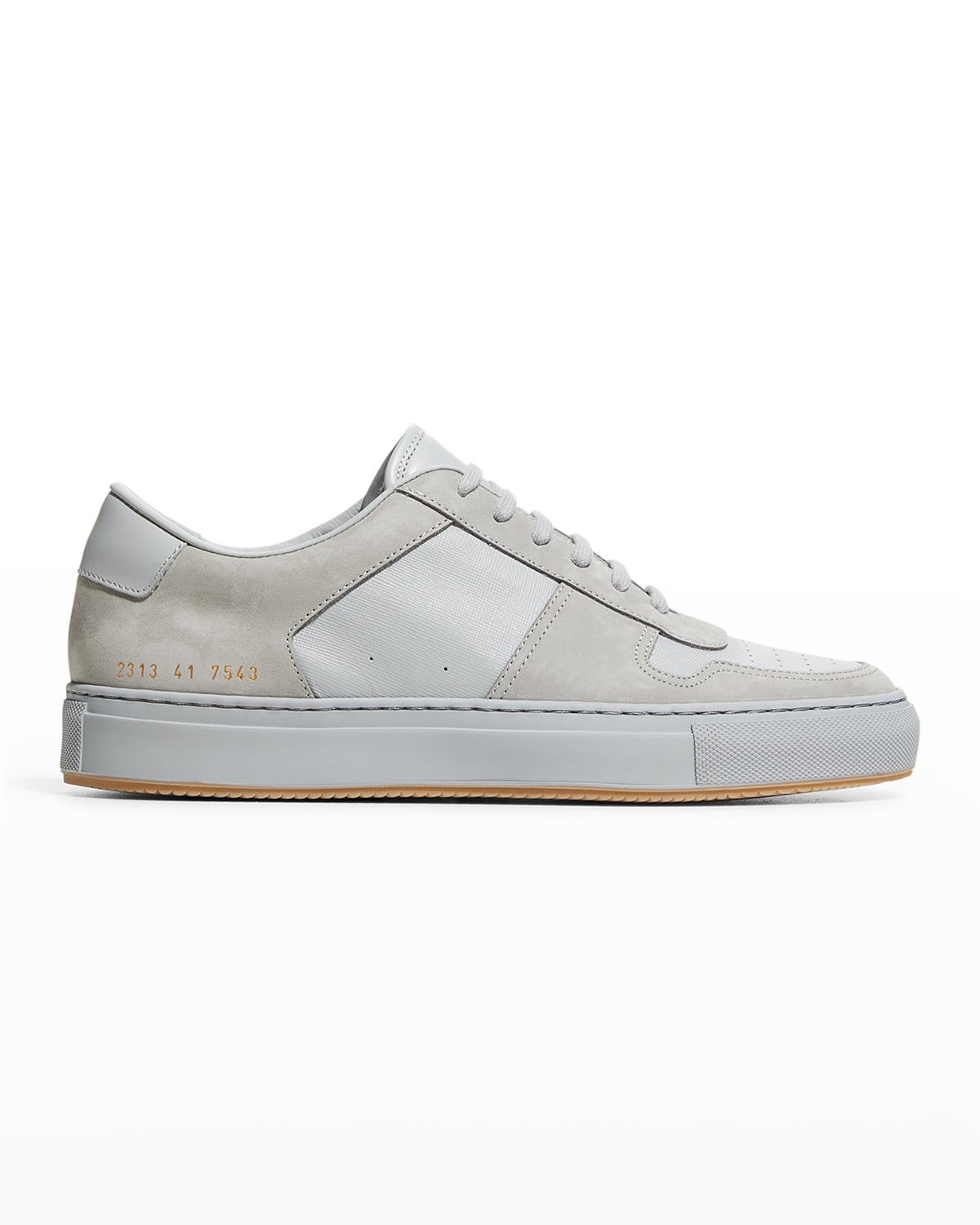 Men's BBall Leather/Suede Sneakers