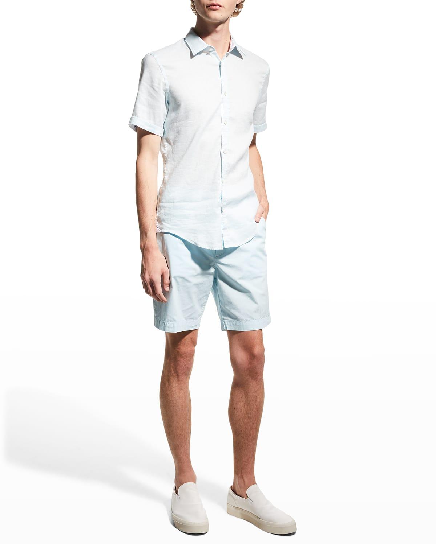 Men's Solid Cotton Shorts