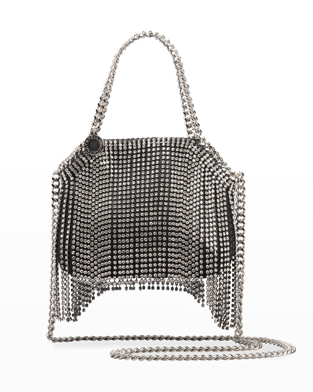 Fringe Crystal Mini Chain Shoulder Bag