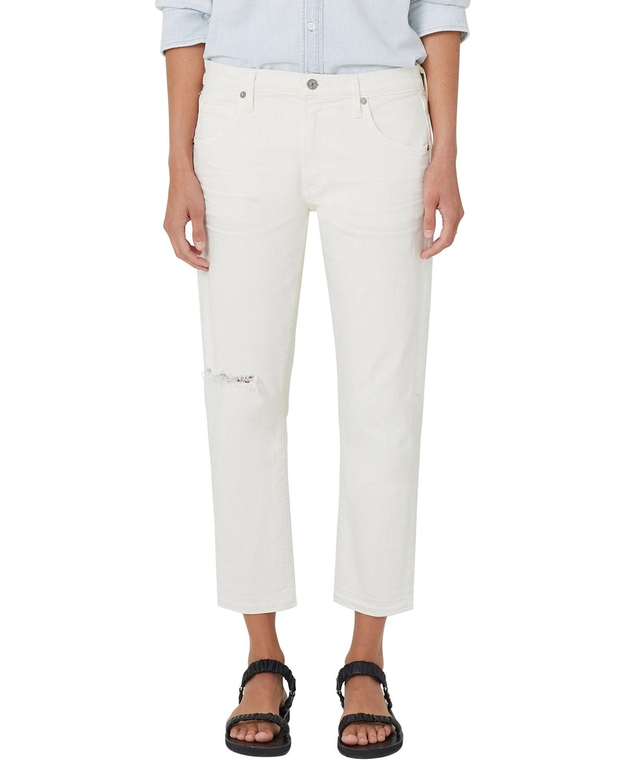 Emerson Cropped Boyfriend Jeans