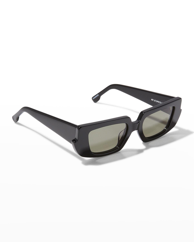 Mascara Rectangle Acetate Sunglasses
