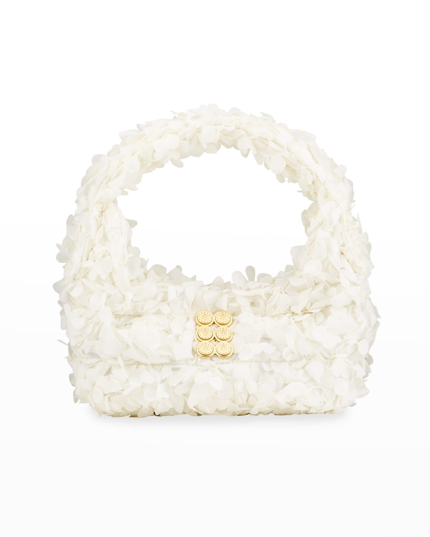 Bloom Mini 3-D Flower Hobo Bag