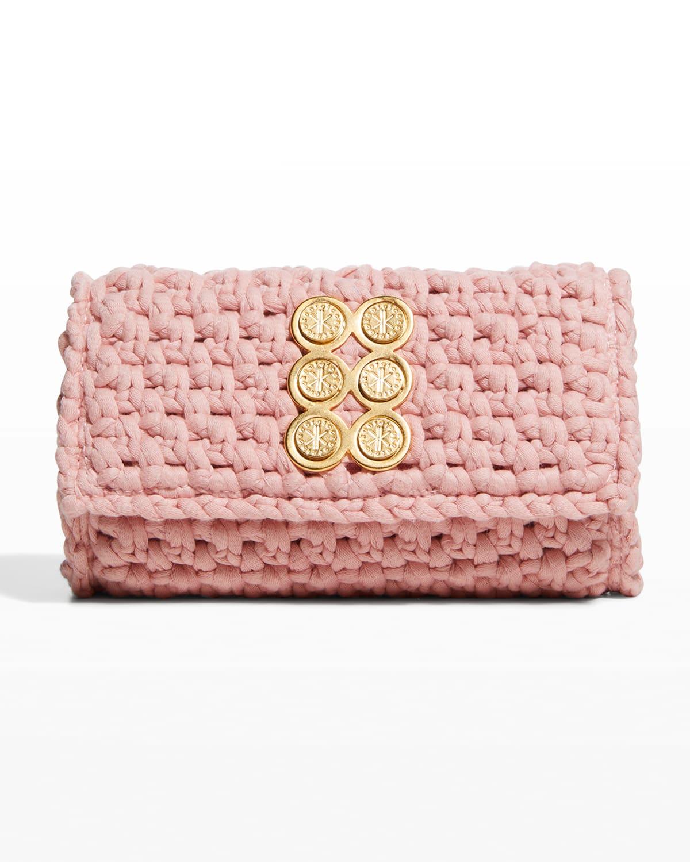 Amalfi Crochet Clutch Bag