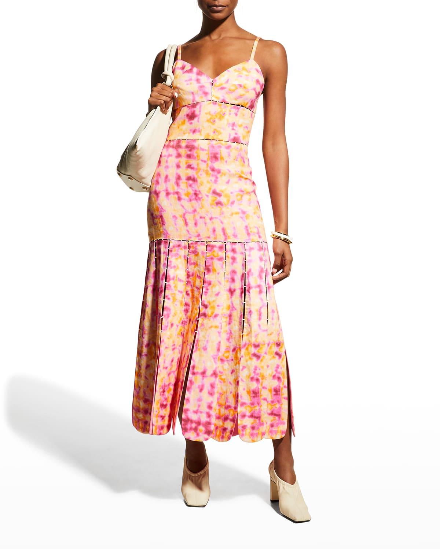 Alessia Tie-Dye Midi Dress
