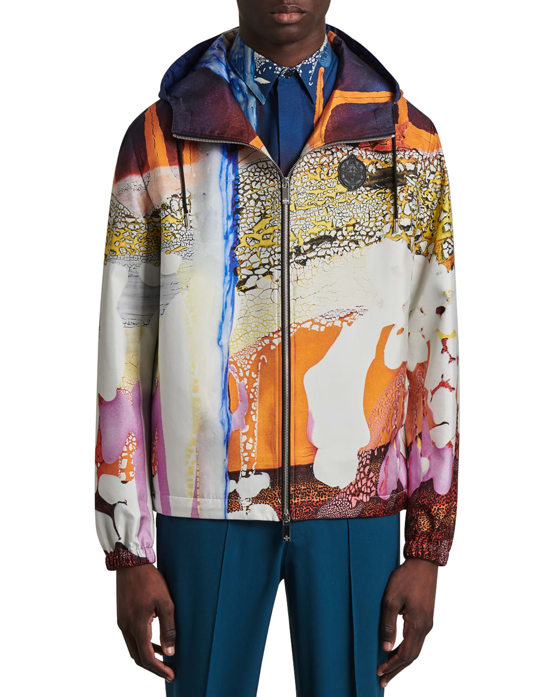 Men's Silk Artistic Wind-Resistant Jacket