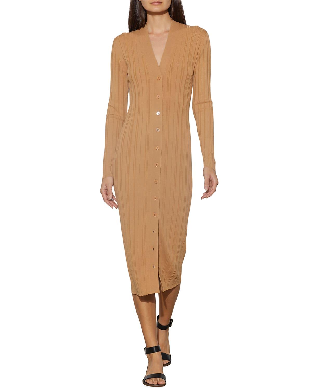 Beagan Long-Sleeve Sweater Dress