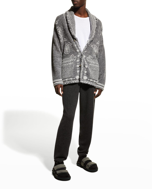 Men's Las Cuevas Bandana Cardigan Sweater