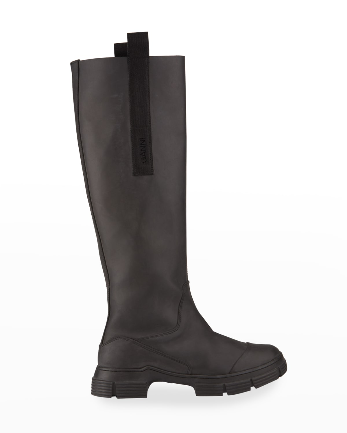 Country Recycled Tall Moto Boots