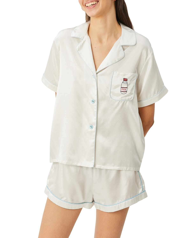 Katelyn Fiona Short-Sleeve Pajama Set