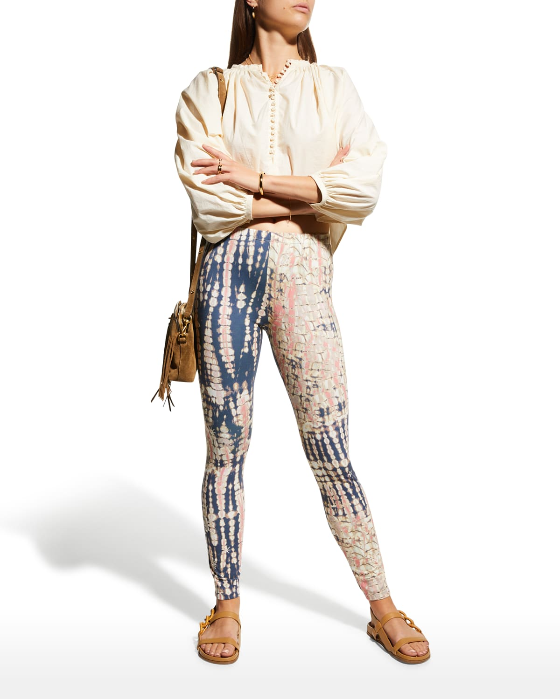 Mia Cotton Tie-Dye Leggings