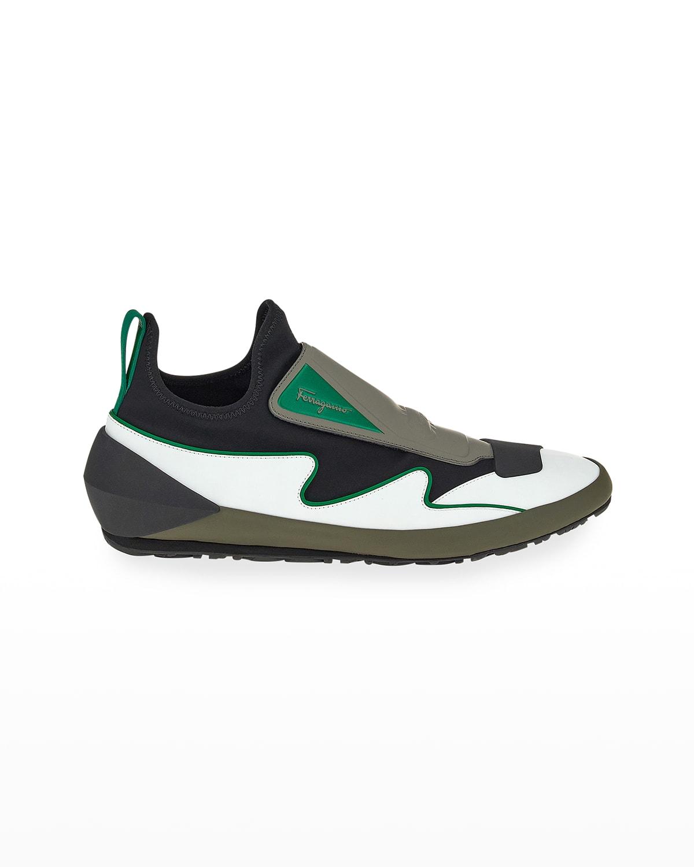 Men's Acqua 03 Colorblock Sock Trainer Sneakers