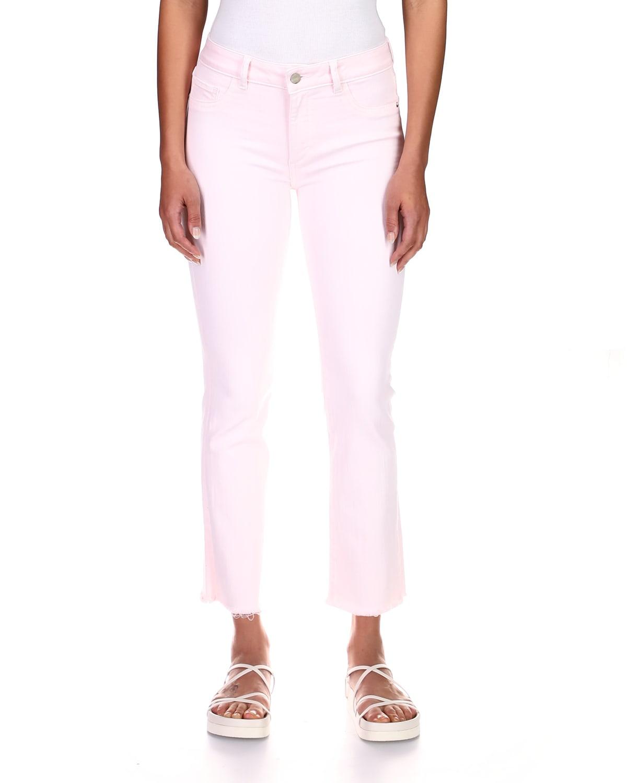 Mara Mid-Rise Straight-Leg Jeans