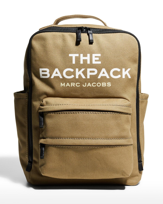 The Backpack Canvas Logo Bag