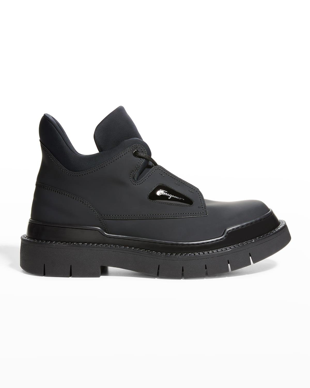 Men's Neji Leather Hiking Boots