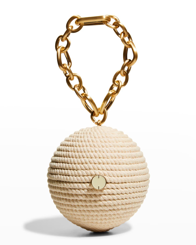 Andel Rope Sphere Wristlet Bag