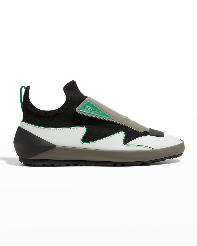 Nile Scuba Colorblock Slip-On Sneakers