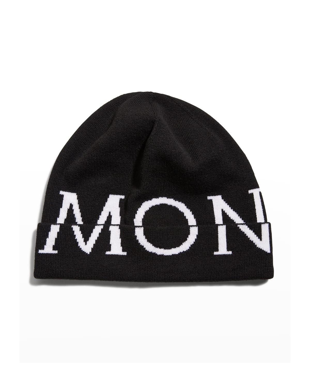 Logo Knit Beanie Hat