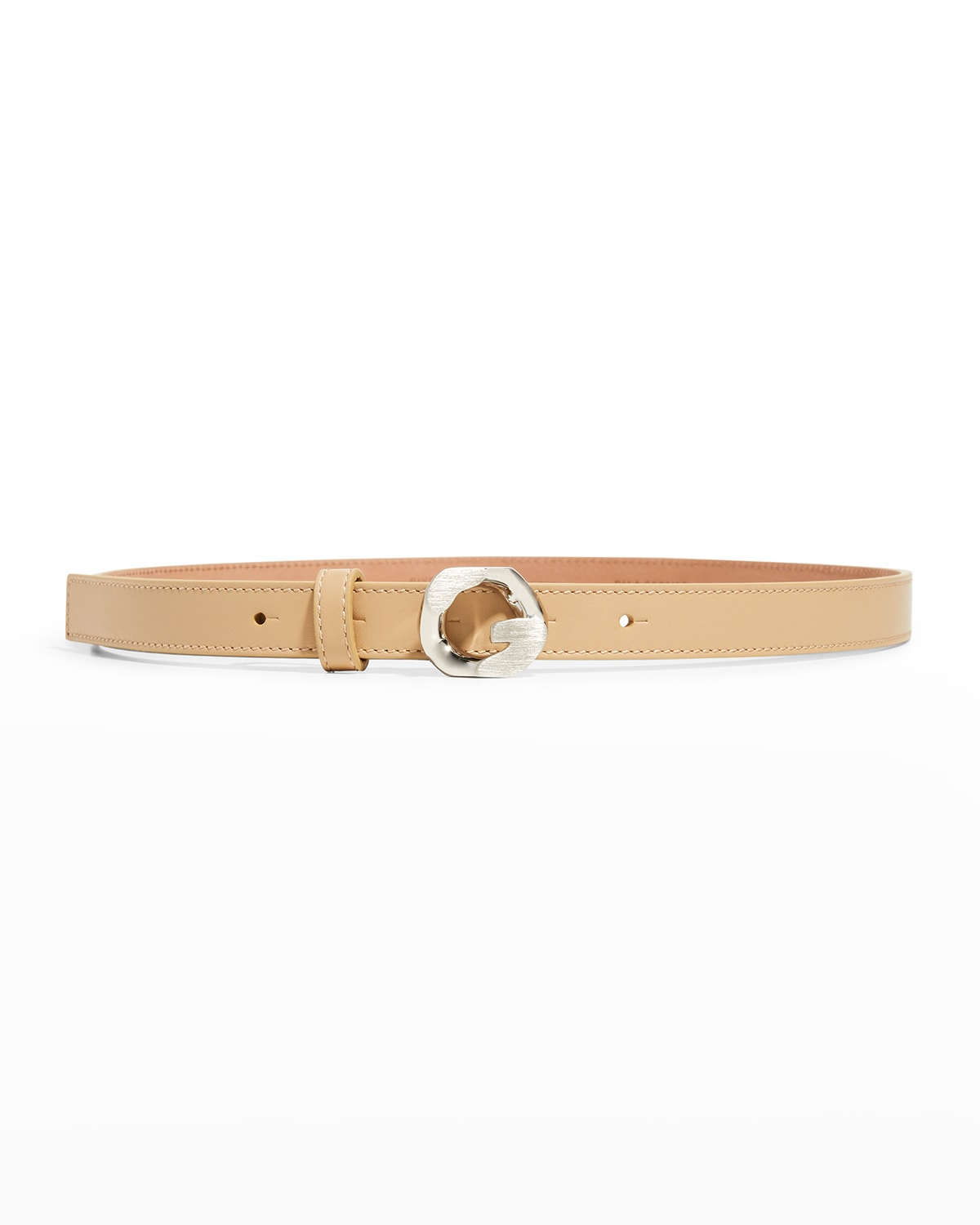 20mm G Chain Leather Belt
