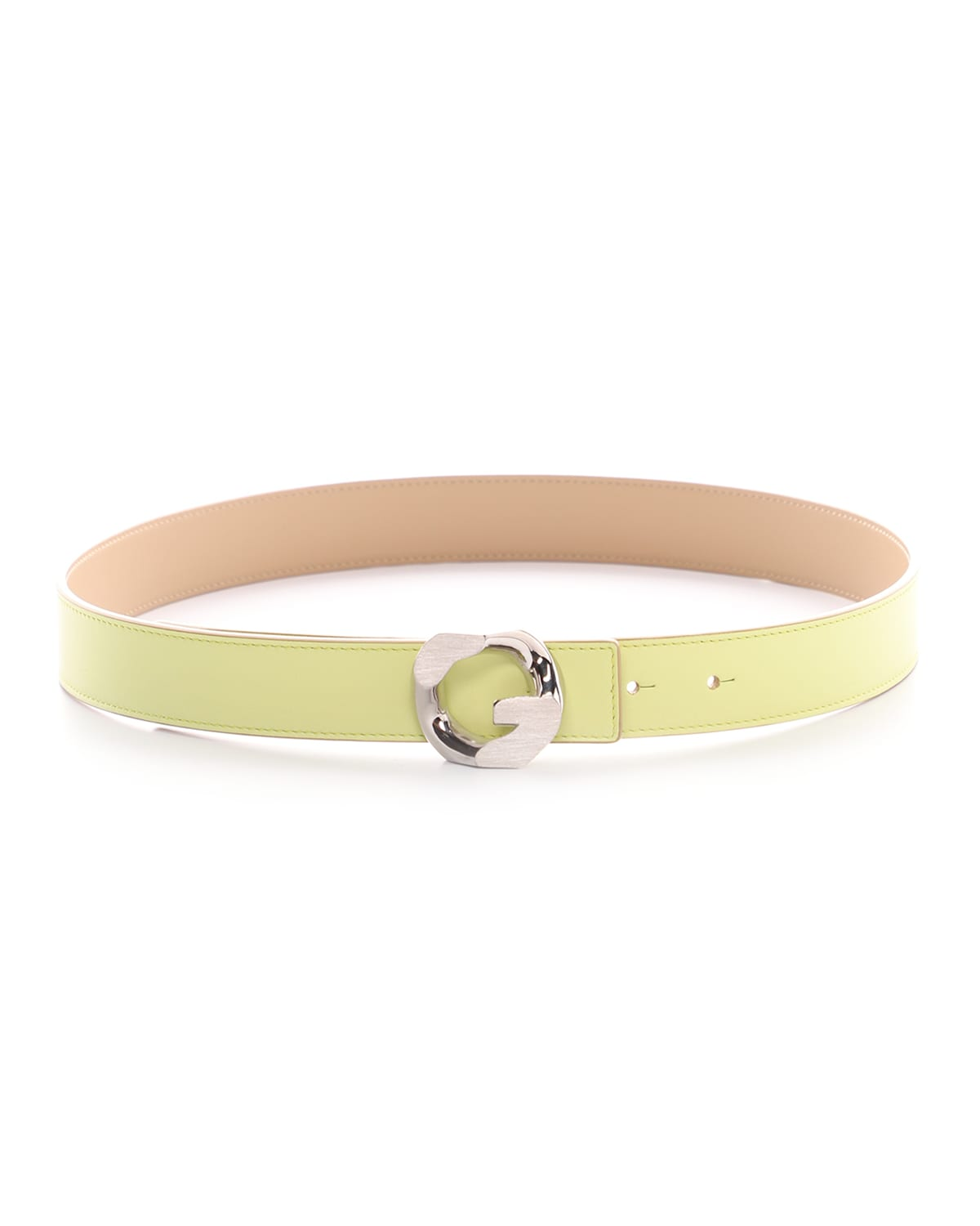 30mm G Chain Reversible Leather Belt