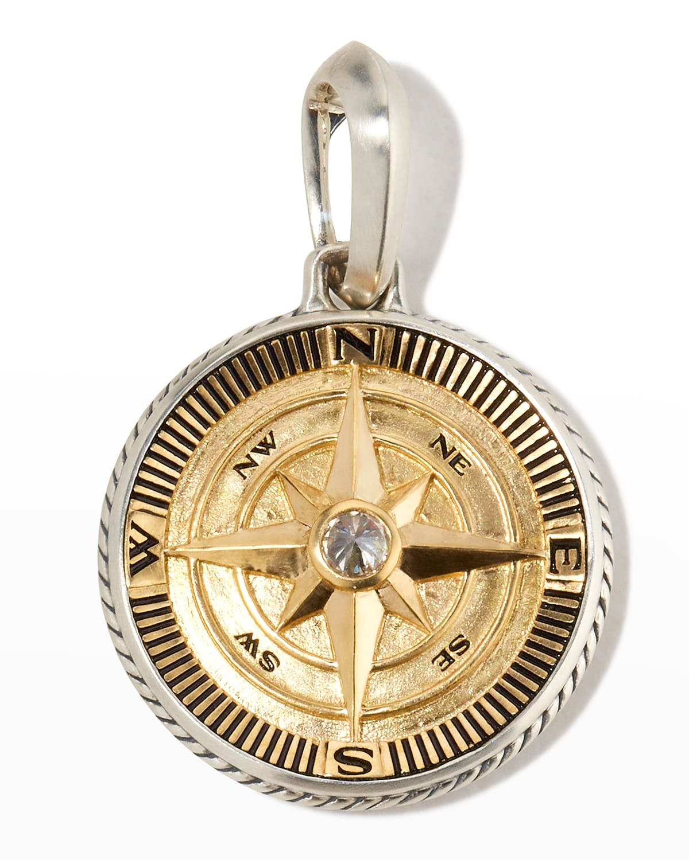 Men's Maritime Compass Amulet