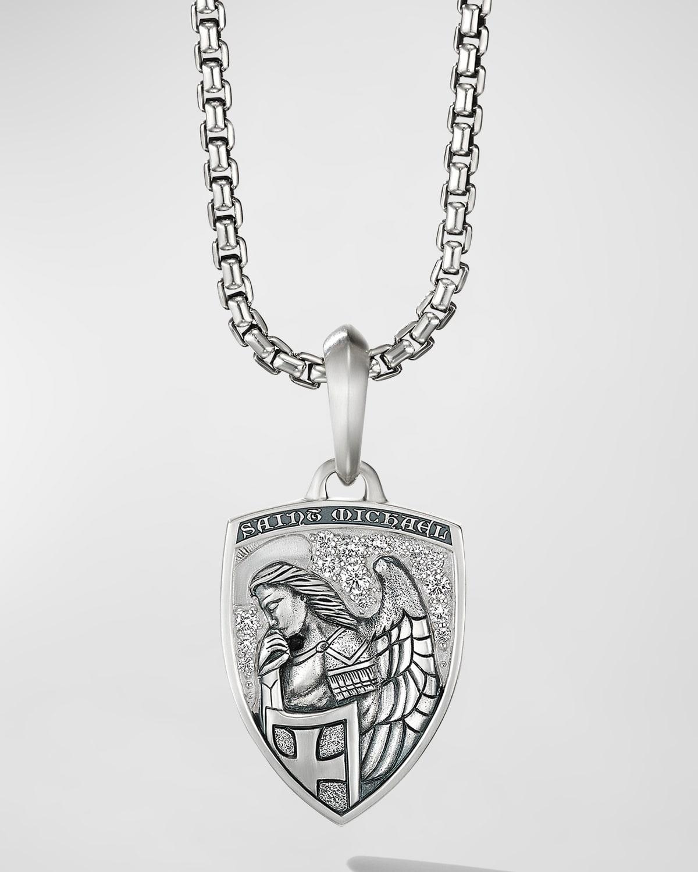 Men's St. Michael Crest Amulet