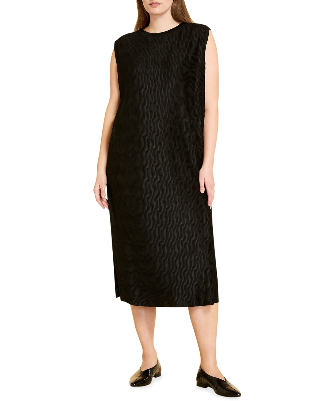 Plus Size Occhiata Jersey Midi Dress