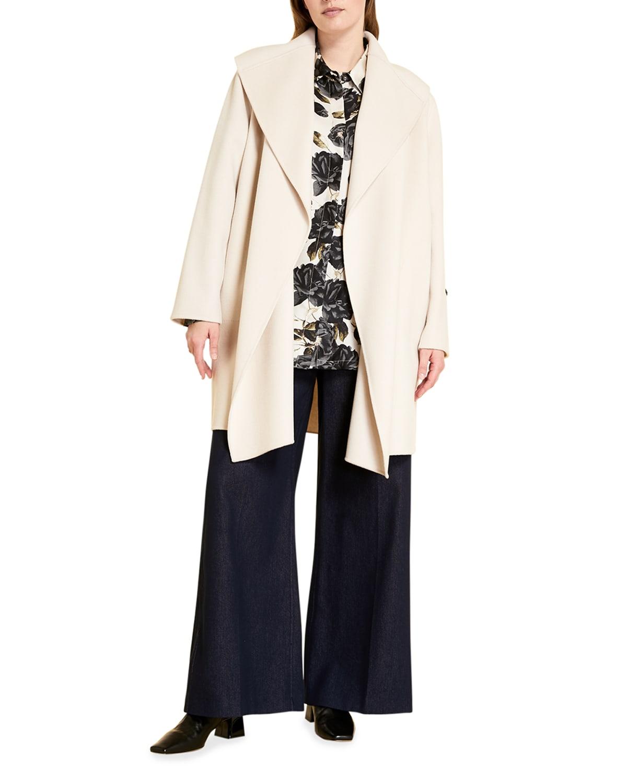 Plus Size Tardi Double-Face Coat