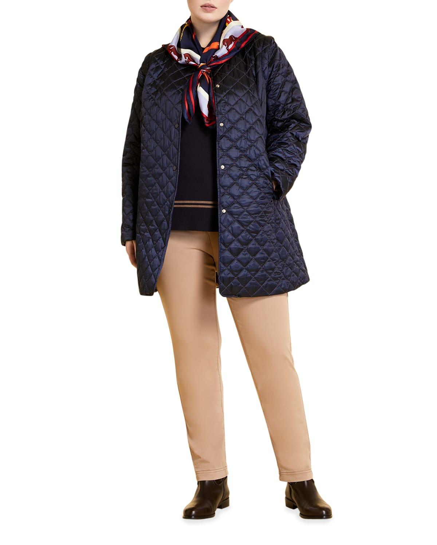 Plus Size Panarea Short Quilted Jacket