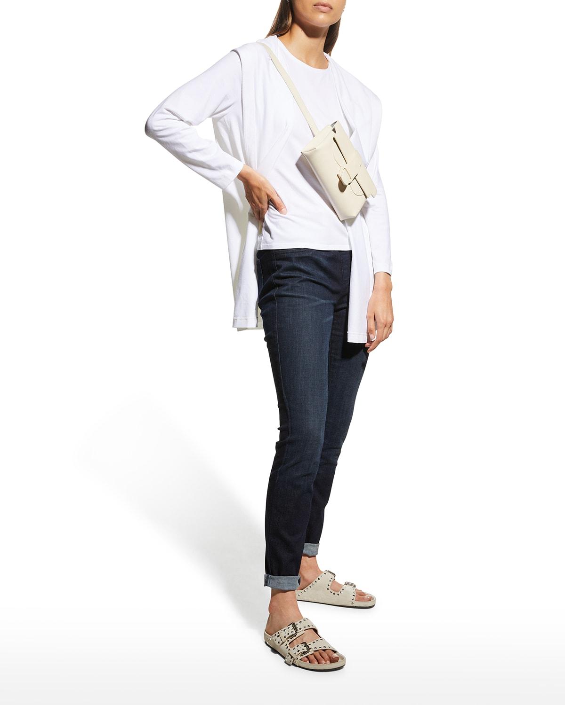 Organic Cotton Stretch Jersey Hooded Jacket