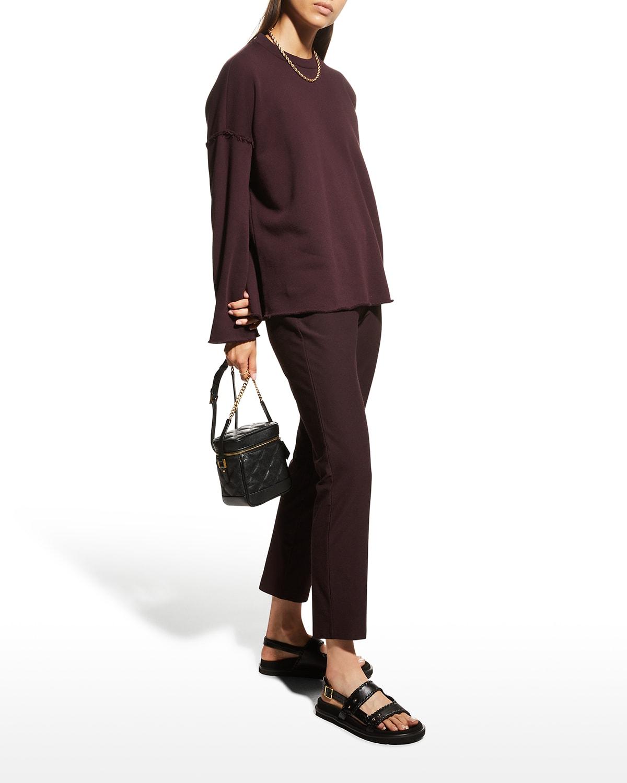 Organic Cotton French Terry Sweatshirt