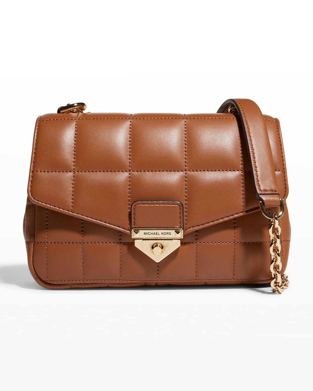 Soho Quilted Lambskin Small Shoulder Bag