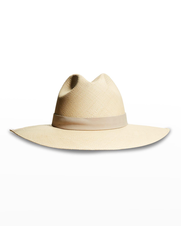Marley Straw Fedora Hat