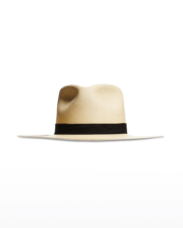 Spencer Straw Fedora Hat