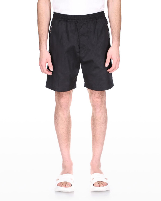 Men's 4G Nylon Jacquard Shorts