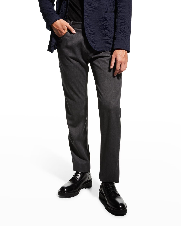 Men's Wool 5-Pocket Pants