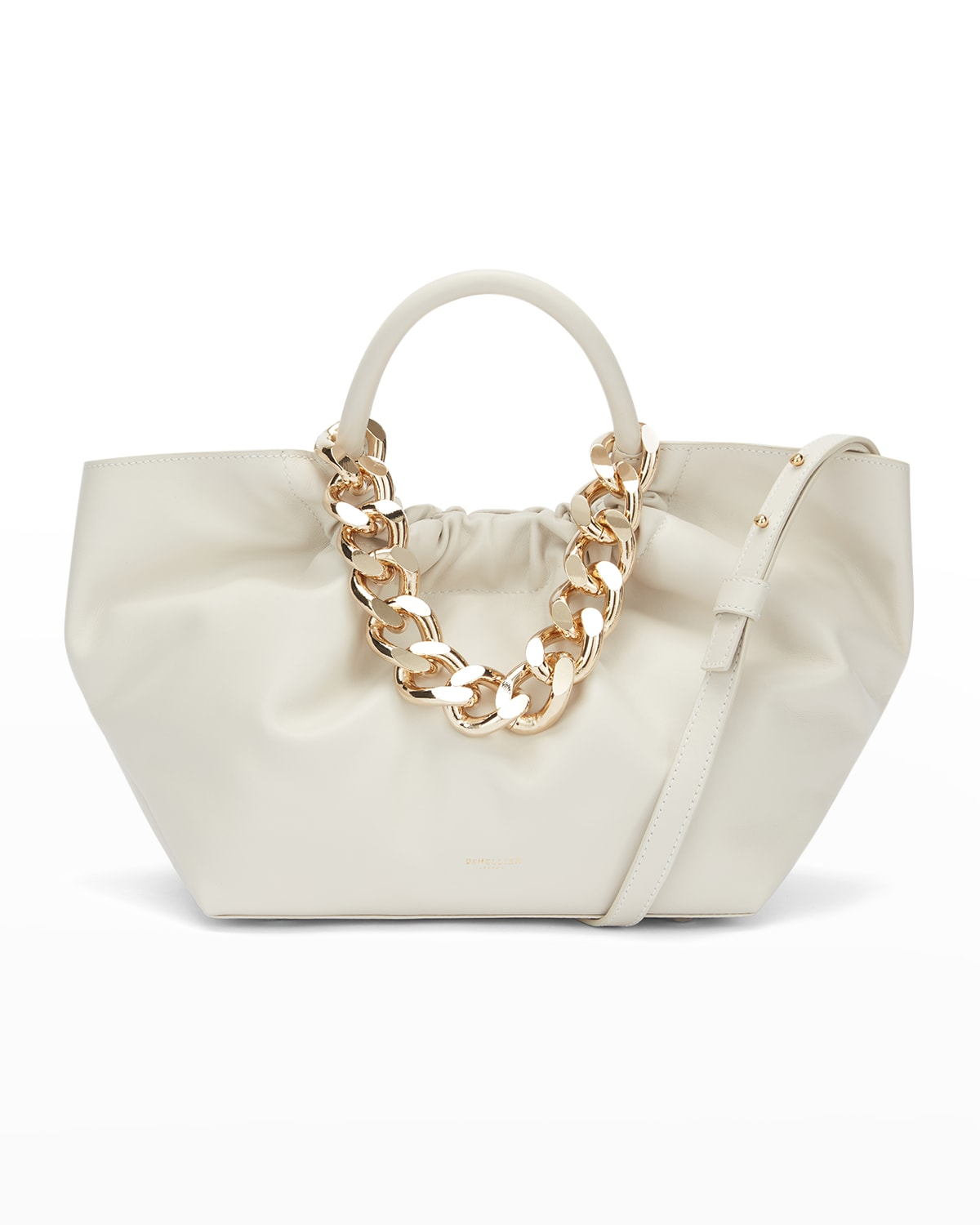 Los Angeles Top-Handle Bag with Chain Strap