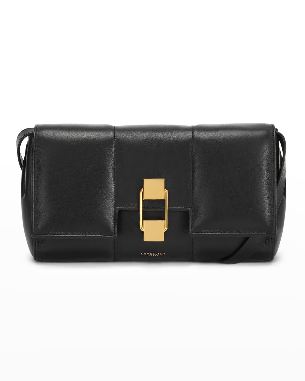 Alexandria Padded Leather Crossbody Bag