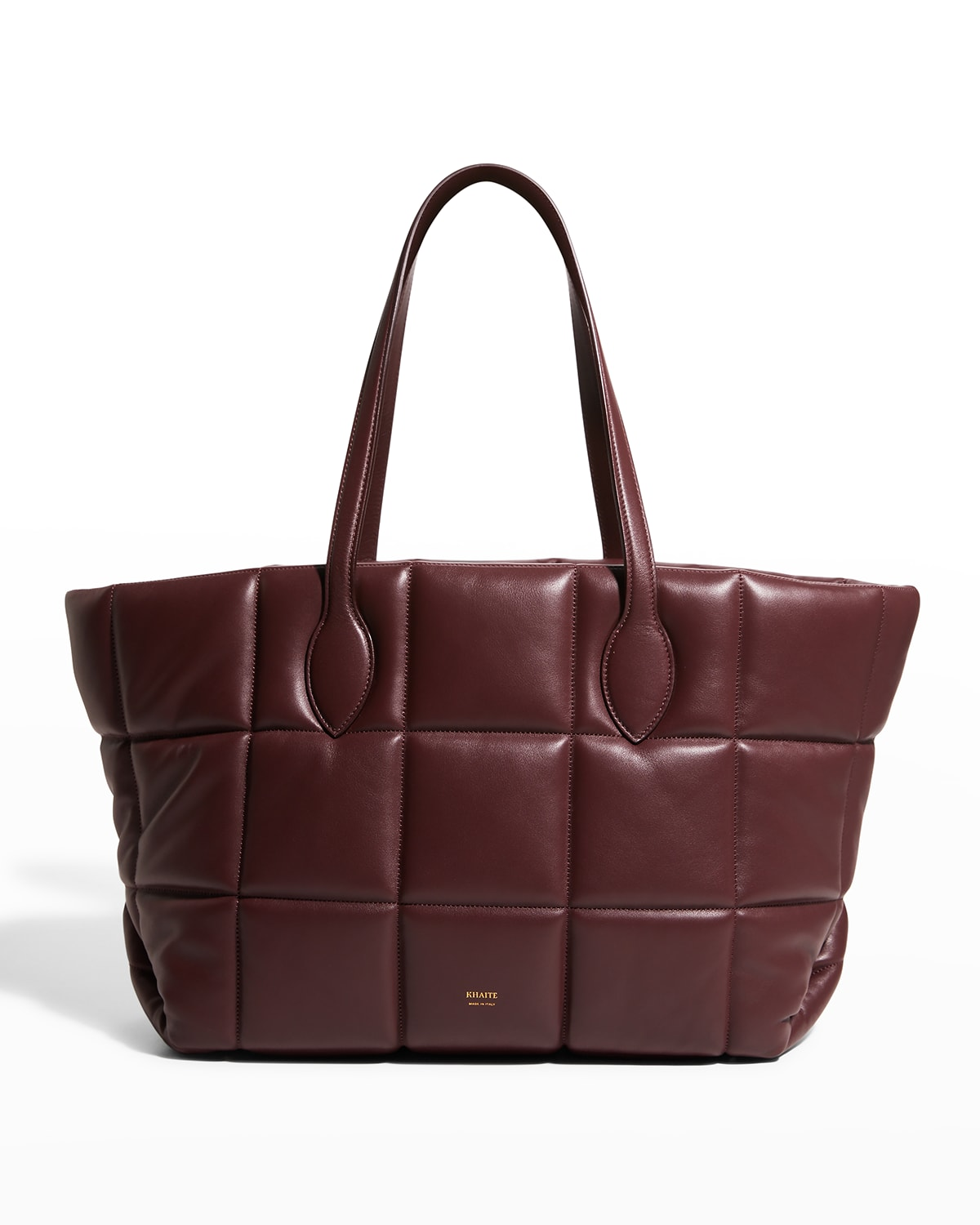 Florence Quilted Leather Tote Bag