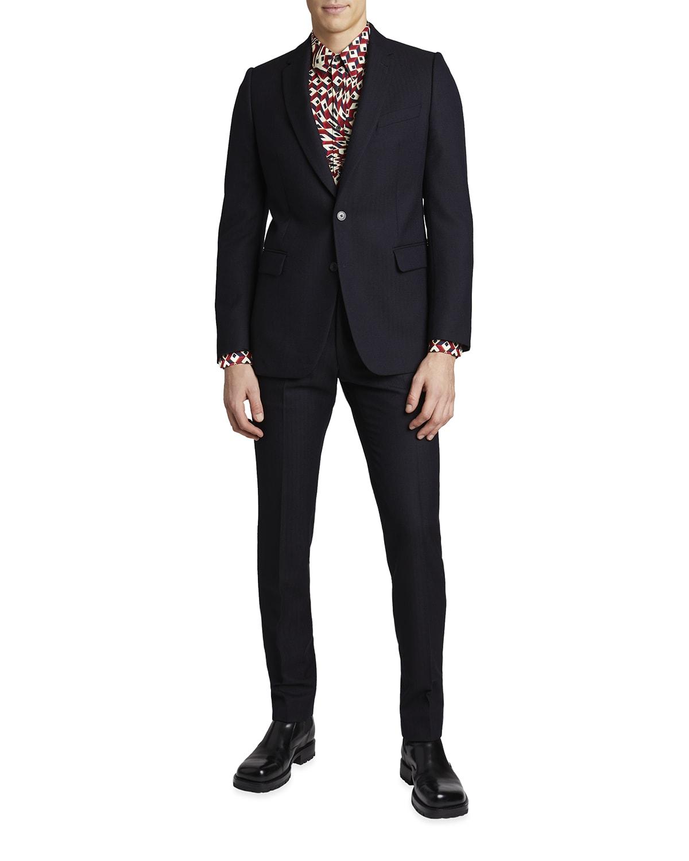 Men's Kline Solid Wool Slim-Fit Suit