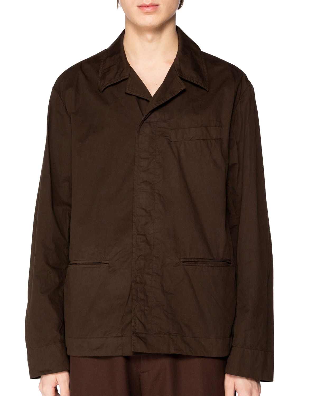 Men's Collin Solid Gabardine Shirt Jacket