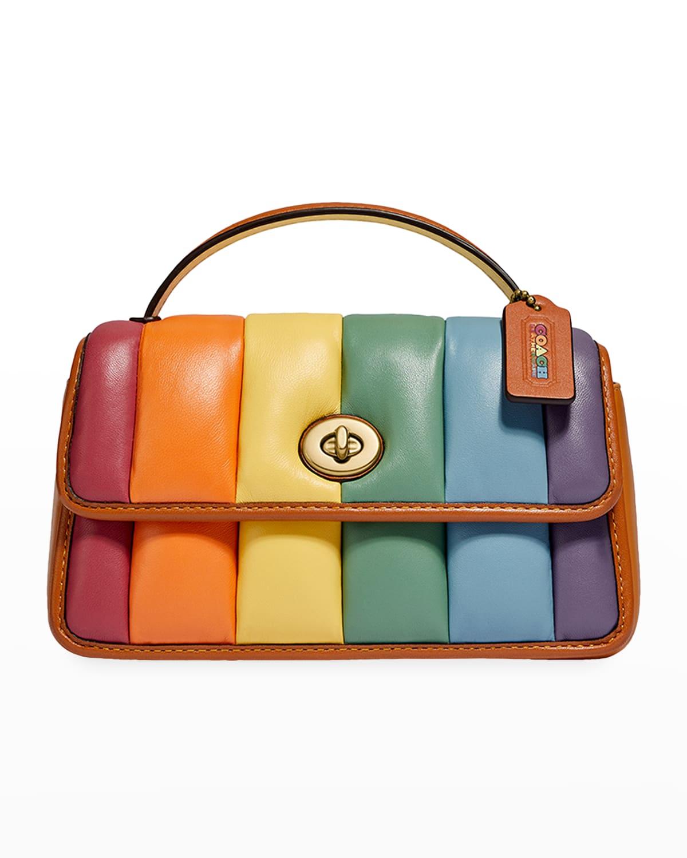 Original Pride Rainbow Quilted Crossbody Bag