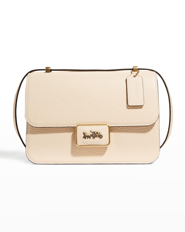 Alie Pebble Leather Shoulder Bag