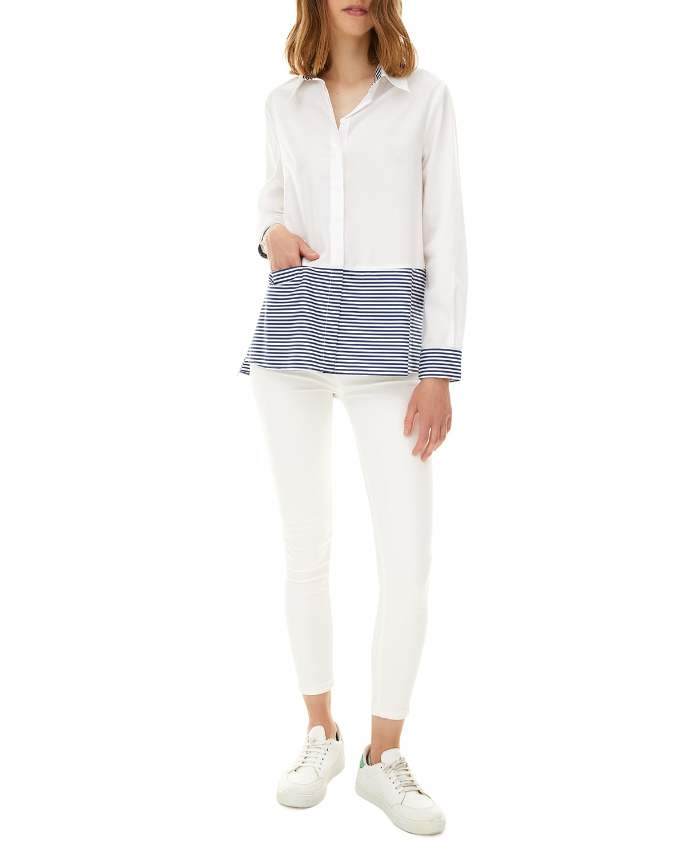 Azur Long-Sleeve Poplin Shirt