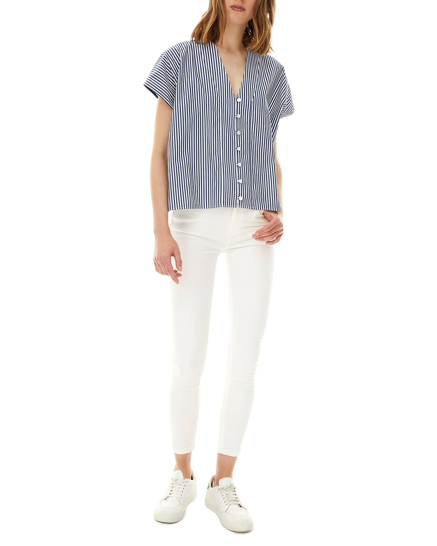 Waverly Striped Poplin Shirt