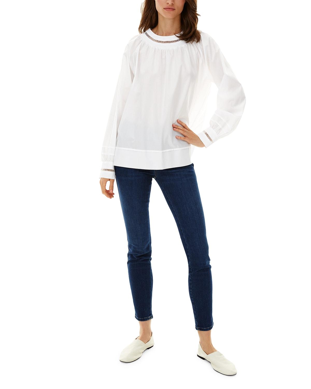 Anemone Long-Sleeve Blouse